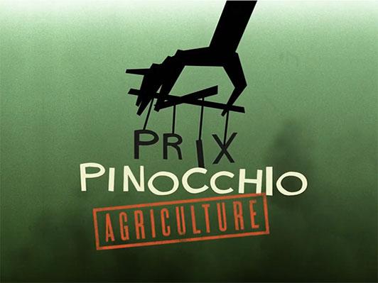 Prix Pinocchio 2020 spécial agriculture