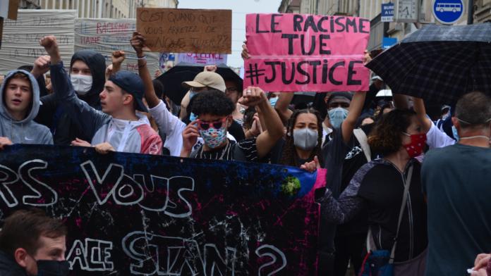 Manifestation Black lives Matter du samedi 13 juin 2020