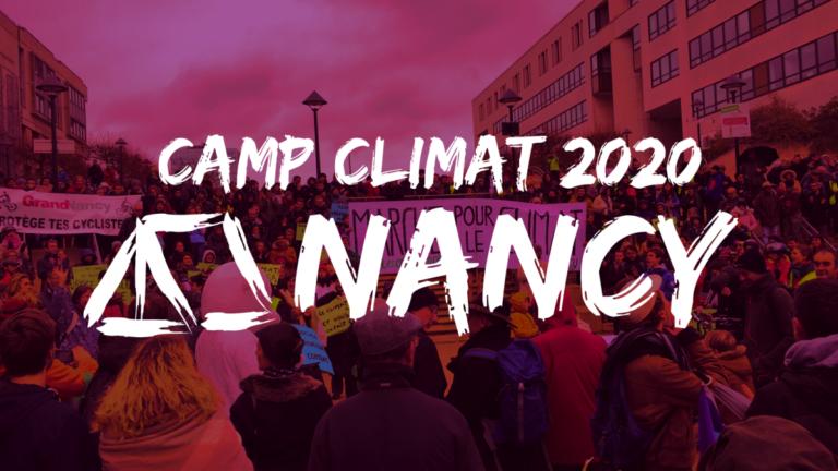 Camp Climat Nancy : Ensemble, formons-nous pour relever le défi climatique