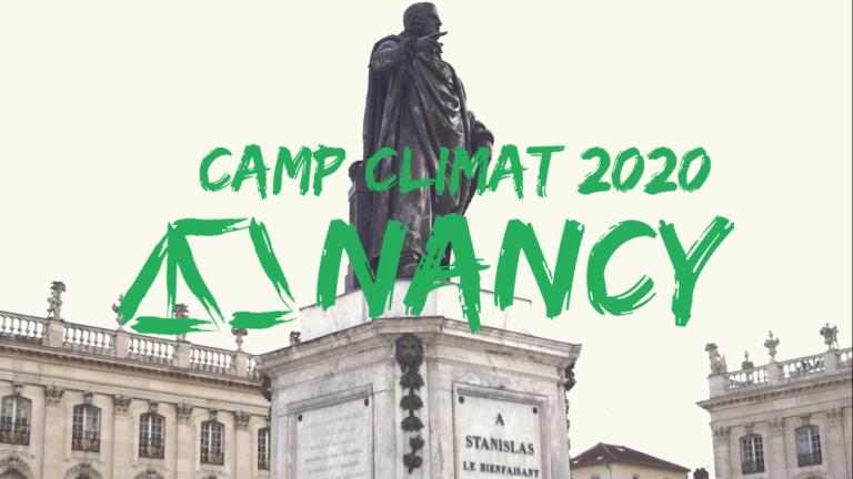 Pour changer d'échelle : Le Camp Climat Nancy commence bientôt !