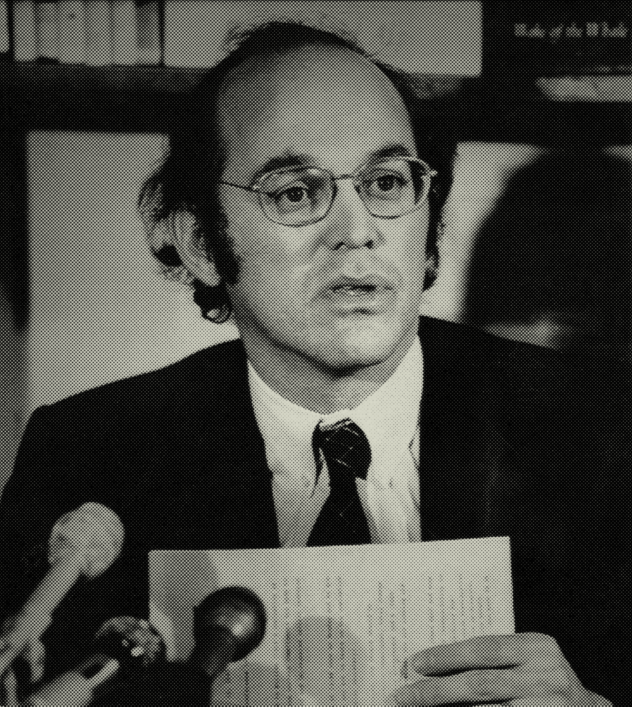 Rafe Pomerance in 1983. J. Scott Applewhite/Associated Press