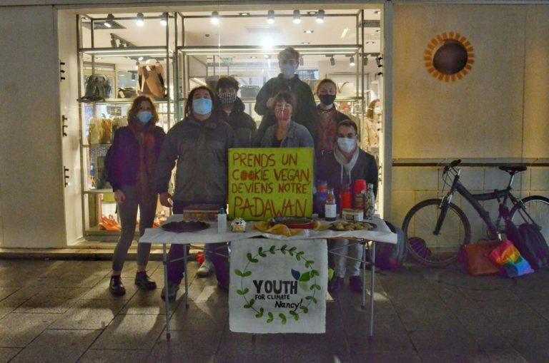 Youth For Climate Nancy, action de sensibilisation et renaissance